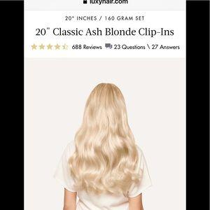 💛Blonde Hair extensions